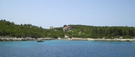 Kneza anchorage on Otok Korcula