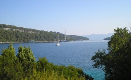 Approach to Luka Polace - Mljet