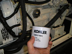 kohler oil filter