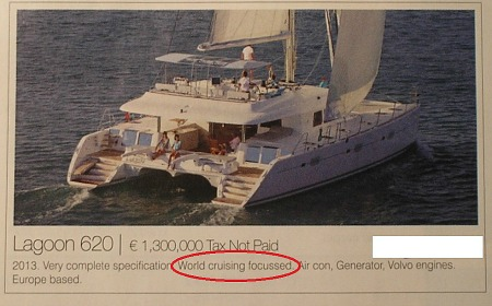 Lagoon 620 for sale