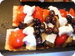 pizza bread olives