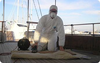 protection when applying boat varnish